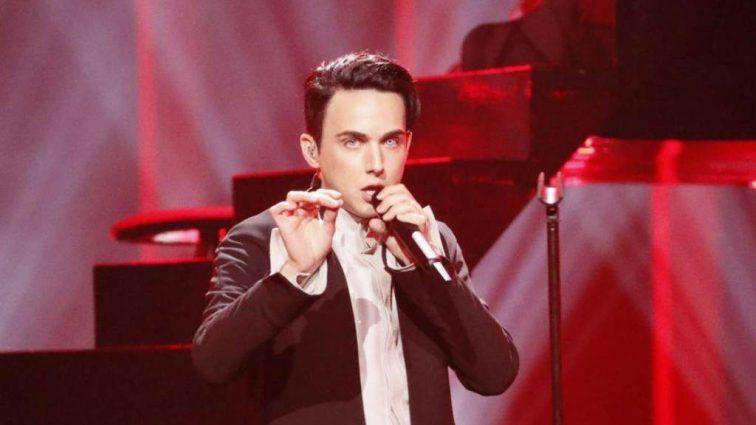 «Стильный вампир» MELOVIN укусил ведущую «Евровидения»