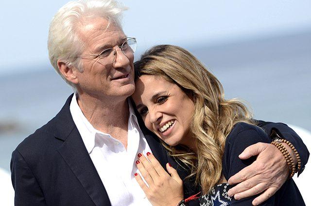 Уже официально: 68-летний голливудский актер Ричард Гир скоро станет отцом