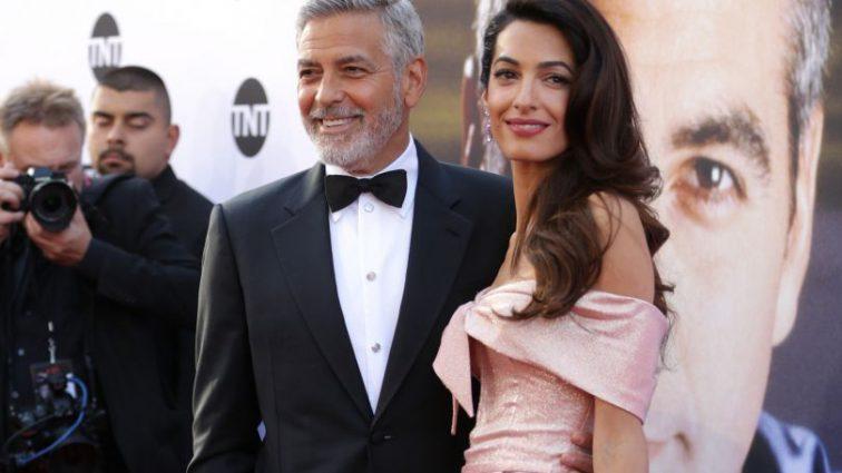 Развода не будет: Джордж и Амаль Клуни вышли вместе в свет