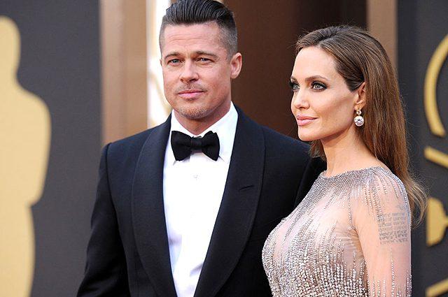 Брэда Питта и Анджелину Джоли впервые «застукали» вместе после громкого развода