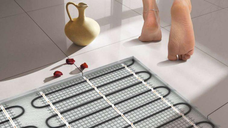 Теплый пол для влажных помещений — какой нагревательный элемент выбрать?